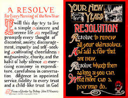 Happy New Year's Resolution!