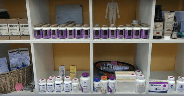 health and wellness products available at the Benevida Health & Wellness Center